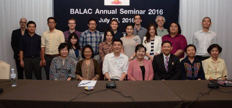 [News from BALAC] BALAC Seminar