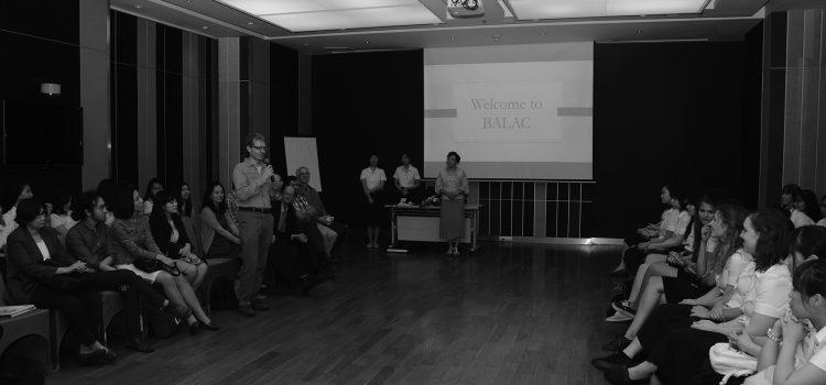 [News from BALAC] BALAC Exchange Student Gathering