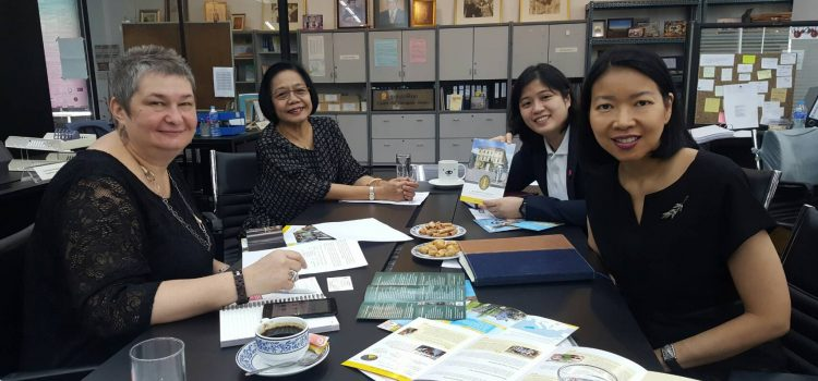 [News from the International Affairs Section] Meeting with a delegate from the University of Szeged, Hungary