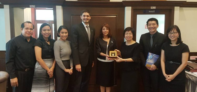[News from the International Affairs Section] Courtesy Visit by Argentine Ambassador