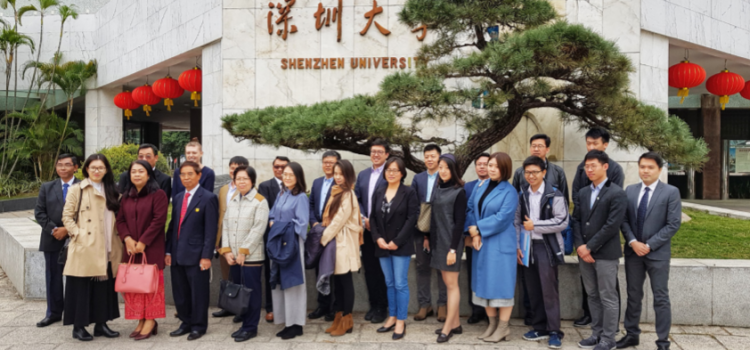 [News from International Affairs Section] Visit to Guangdong