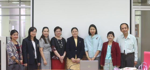 ภาควิชาภูมิศาสตร์ เข้าร่วมต้อนรับคณาจารย์จาก  East Yangon University, Myanmar 21 กุมภาพันธ์ 2563