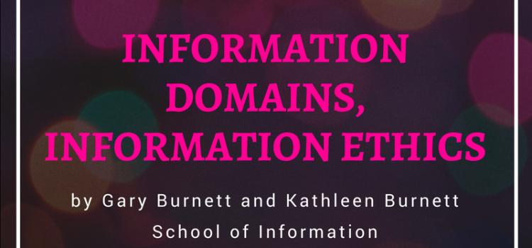 """Public Lecture: """"Information Domains, Information Ethics"""""""