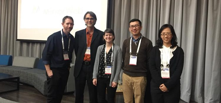 Dr.Wachiraporn presented at Web Archiving Conference 2018