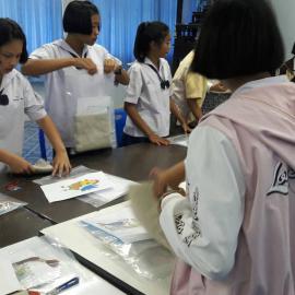 สารสนเทศสู่สังคม ณ โรงเรียนหนองแซงวิทยา