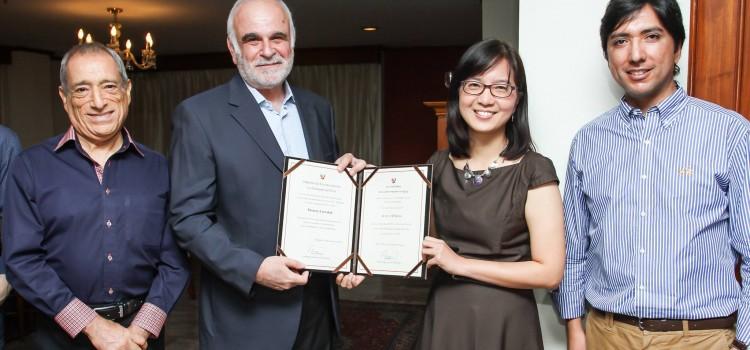 อาจารย์คณะอักษรศาสตร์ได้รับประกาศนียบัตรประกาศเกียรติคุณจากเอกอัครราชทูตเปรูประจำประเทศไทย