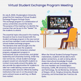 Virtual Student Exchange Program Meeting